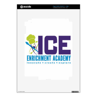 Productos de la academia del enriquecimiento del calcomanía para el iPad 2