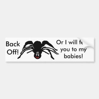 Productos de la araña pegatina de parachoque