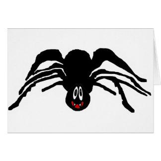 Productos de la araña tarjeta