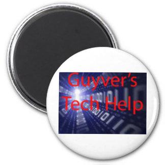 Productos de la ayuda de la tecnología de Guyver Imán Redondo 5 Cm