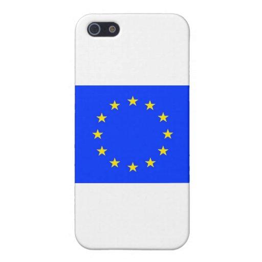 Productos de la bandera de Enited Europa iPhone 5 Carcasas