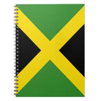 Productos de la bandera de Jamaica Cuadernos