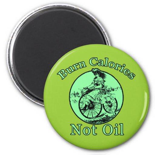 Productos de la bicicleta del aceite de las calorí imán de frigorifico