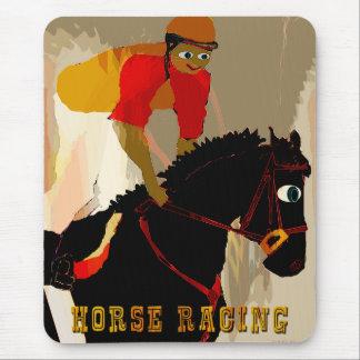 productos de la carrera de caballos tapete de ratones