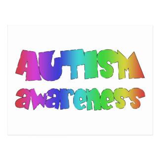 ¡Productos de la conciencia del autismo! ¡Diseño Tarjetas Postales