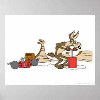 Productos de la cumbre del coyote del Wile E 11 2 Posters