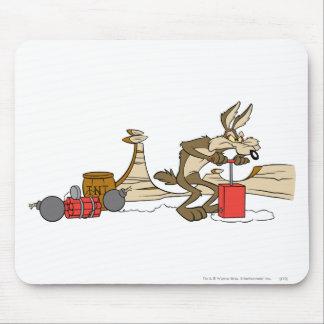 Productos de la cumbre del coyote del Wile E 11 2 Mouse Pad