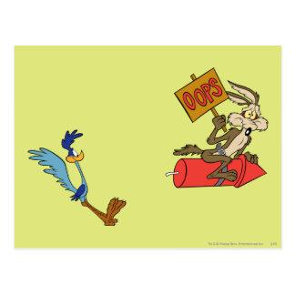 Productos de la cumbre del coyote y de los tarjeta postal