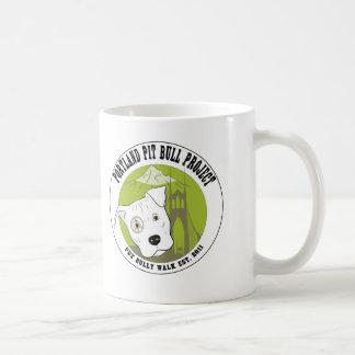 Productos de la diversión del proyecto del pitbull taza de café