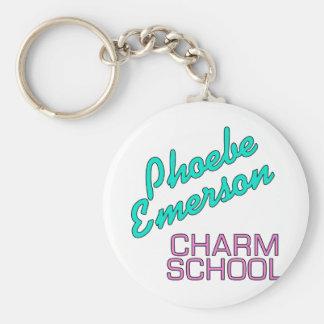 Productos de la escuela del encanto de Phoebe Emer Llavero