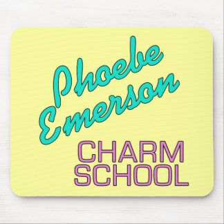 Productos de la escuela del encanto de Phoebe Emer Tapetes De Ratón