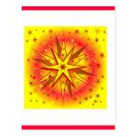 Productos de la estrella del navidad postales