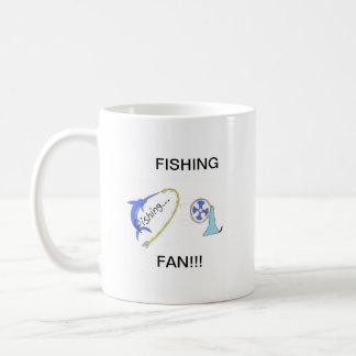 Productos de la fan de la pesca taza clásica
