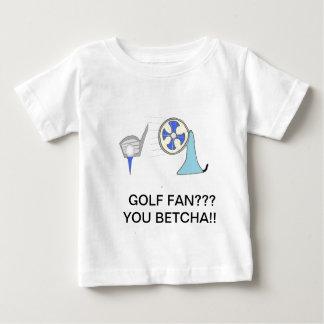 productos de la fan del golf polera