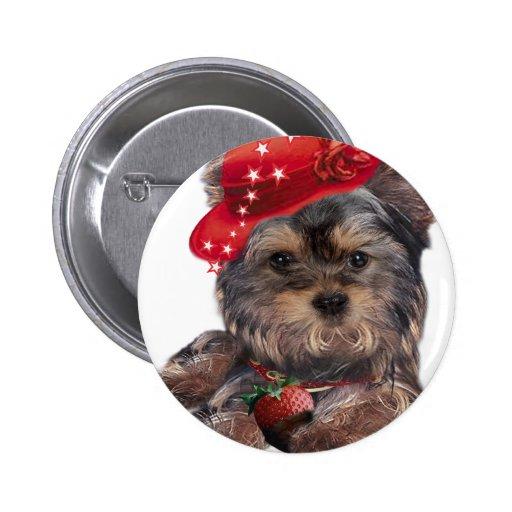 Productos de la fresa de Yorkshire Terrier Pin