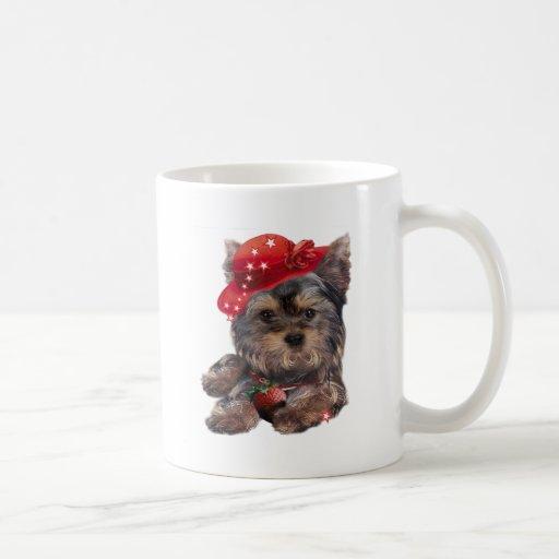 Productos de la fresa de Yorkshire Terrier Taza De Café