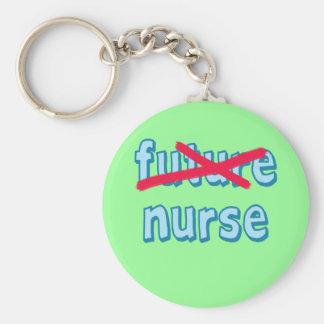 Productos de la graduación de la enfermera llavero redondo tipo chapa