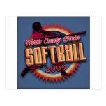 Productos de la liga del softball de HCSSL Tarjetas Postales