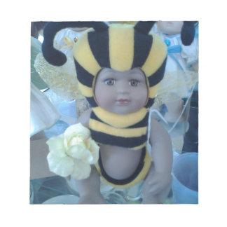 Productos de la muñeca de la abeja bloc de papel