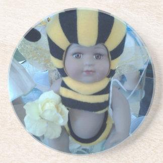 Productos de la muñeca de la abeja posavasos manualidades