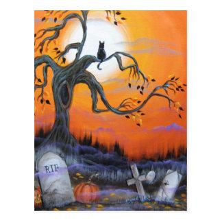 Productos de la noche de Halloween Tarjeta Postal
