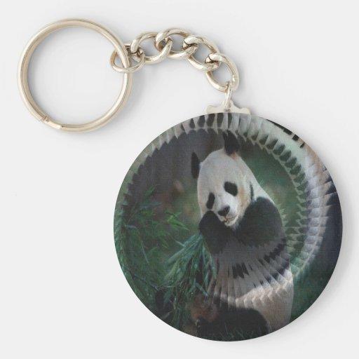 Productos de la panda llaveros