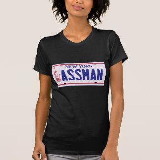 Productos de la placa de Assman Nueva York Camisetas