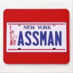Productos de la placa de Assman Nueva York Alfombrillas De Raton