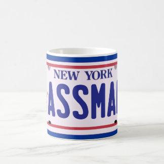 Productos de la placa de Assman Nueva York Taza Básica Blanca
