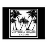 Productos de la playa de Victoria Tarjeta Postal