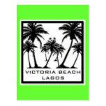 Productos de la playa de Victoria Tarjetas Postales