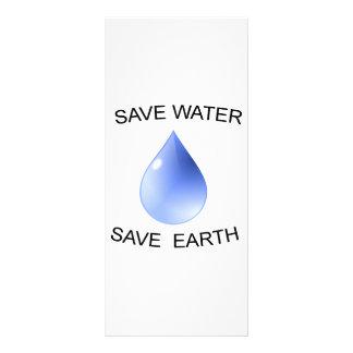 ¡Productos de la protección de agua! Diseños De Tarjetas Publicitarias