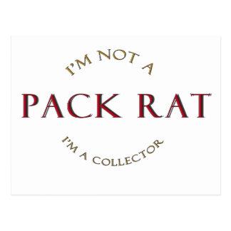Productos de la rata de paquete tarjetas postales