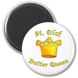 Productos de la reina de la mantequilla del St. Ol Imán Redondo 5 Cm