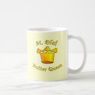Productos de la reina de la mantequilla del St. Ol Tazas De Café