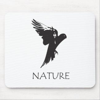 Productos de la serie de la naturaleza del Macaw Alfombrillas De Ratones