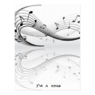 Productos de la serie de los amantes de la música tarjetas postales