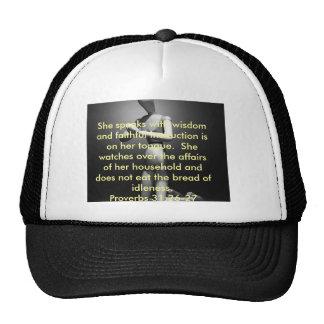 Productos de la vida proverbios 31 de una mujer gorros bordados
