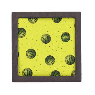 productos de las sandías y de las semillas cajas de recuerdo de calidad