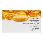 Productos de las vitaminas y de la salud tarjeta de negocio
