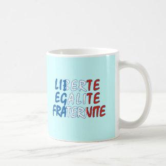 Productos de Liberte Egalite Fraternite Tazas De Café
