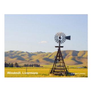 Productos de Livermore California del molino de vi Tarjeta Postal