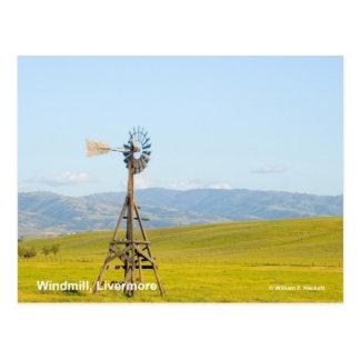 Productos de Livermore California del molino de vi Postales