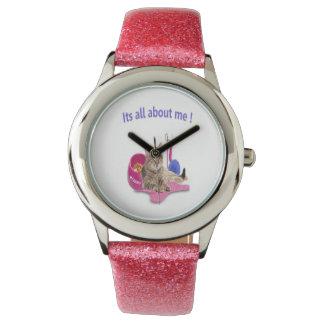 Productos de los amantes del gato relojes de pulsera