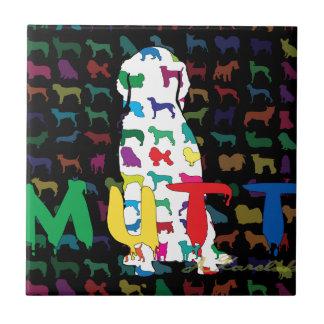 Productos de los amantes del perro azulejo cerámica