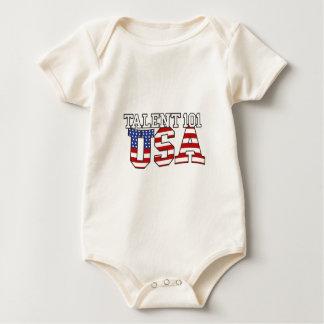 Productos de los E.E.U.U. del talento 101 Body Para Bebé