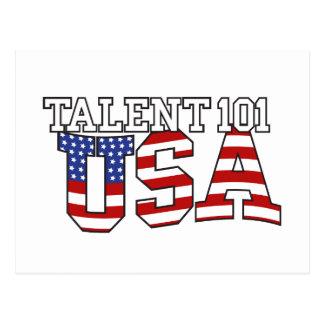 Productos de los E.E.U.U. del talento 101 Postales