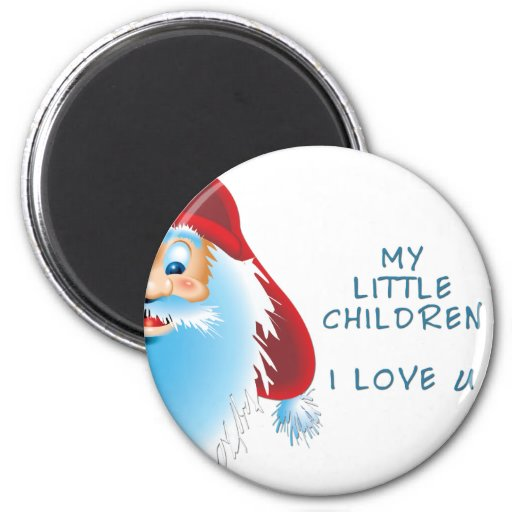 Productos de los niños imán redondo 5 cm