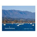 Productos de los veleros de Santa Barbara, Califor Tarjetas Postales