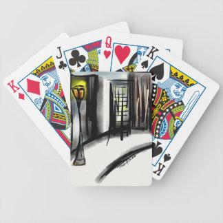 Productos de poste de la calle cartas de juego